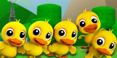 Five Little Ducks | Childrens Song For Kids | Nursery Rhyme For Baby by Farmees