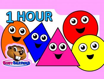 """Colors & Shapes DVD"" – 1 Hour, Super Simple Colours, Little Baby Songs, Kids Learn Nursery Rhymes"