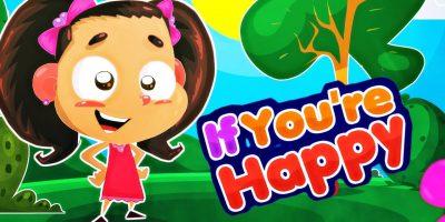 If you're happy | Bambinoyana TV | Nursery Rhymes Kids & Baby Songs | طيور الجنة