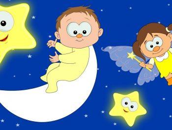 Lullaby – Twinkle Twinkle Little Star | Lullabies For Babies | Bedtime Songs | HooplaKidz TV