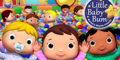 """Ten Little Funny Babies"" Playground | Nursery Rhymes And Kids Songs | Original LBB Version"