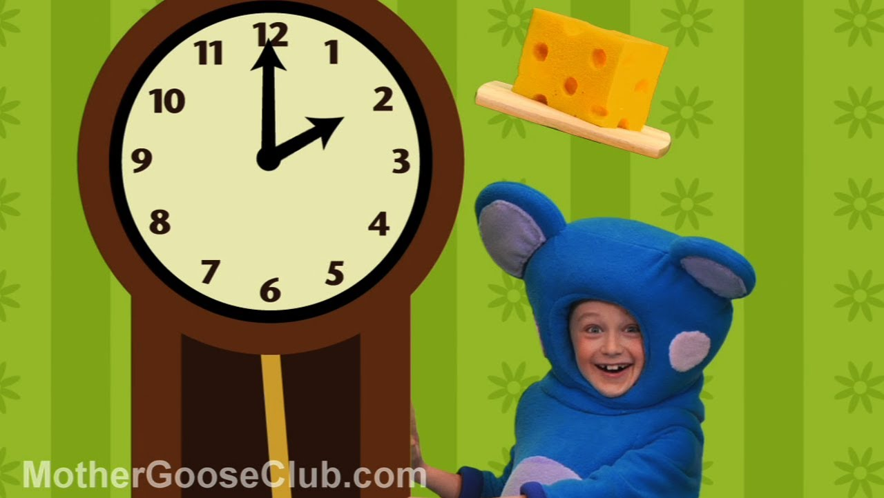 Hickory Dickory Dock – Mother Goose Club Rhymes for Children