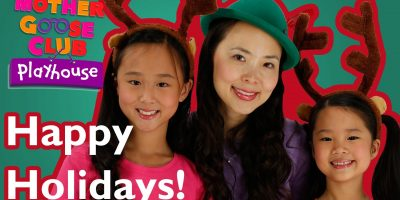 We Wish You a Happy Holiday | Mother Goose Club Playhouse Kids Video