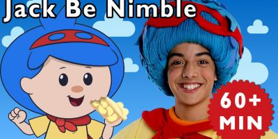 Jack Be Nimble and More   Nursery Rhymes from Mother Goose Club!