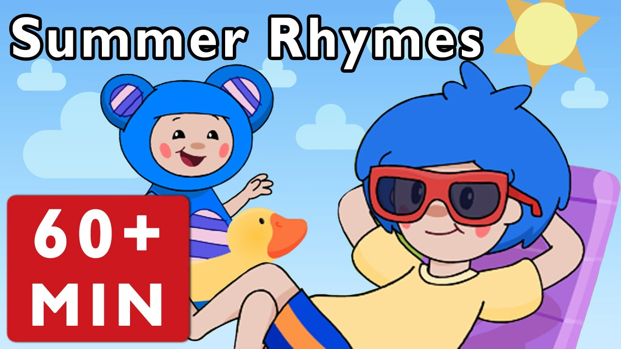 Summer Rhymes and More | Nursery Rhymes from Mother Goose Club!
