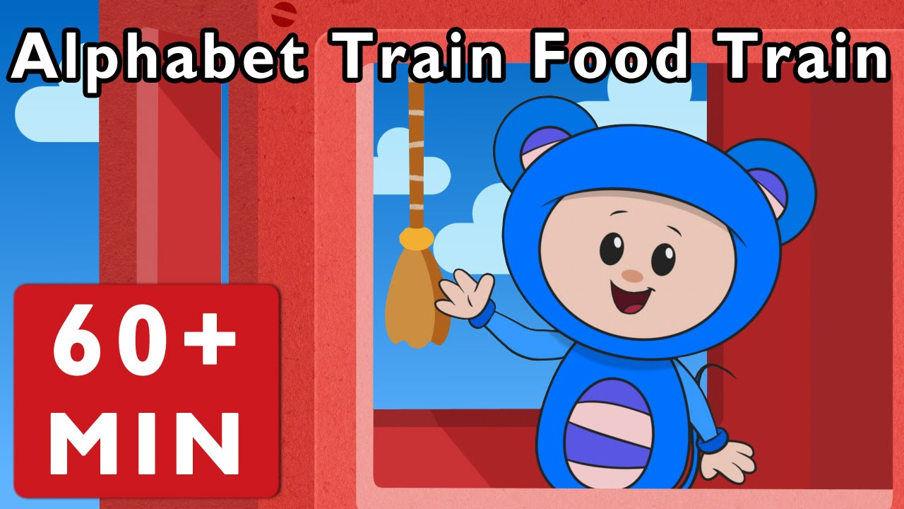 Alphabet Train Food Train and More | Nursery Rhymes from Mother Goose Club!