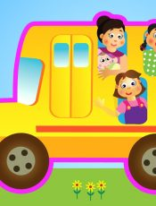 Wheels on the Bus – Back to School! – Mother Goose Club Playhouse Kids Video