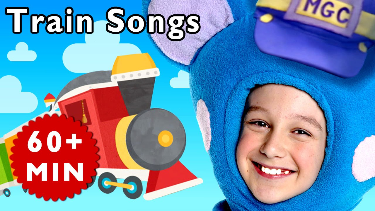 Freight Train and More   Nursery Rhymes from Mother Goose Club!