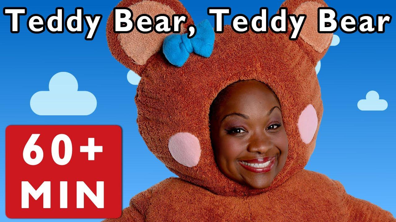 Teddy Bear, Teddy Bear and More | Nursery Rhymes from Mother Goose Club!