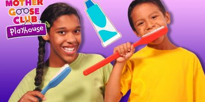 Brush Your Teeth   HEALTHY HABITS   Rhymes for Healthy Kids   Mother Goose Club Playhouse Kids Video