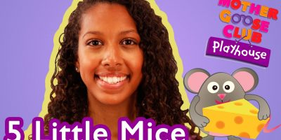 Five Little Mice | Mother Goose Club Playhouse Kids Video