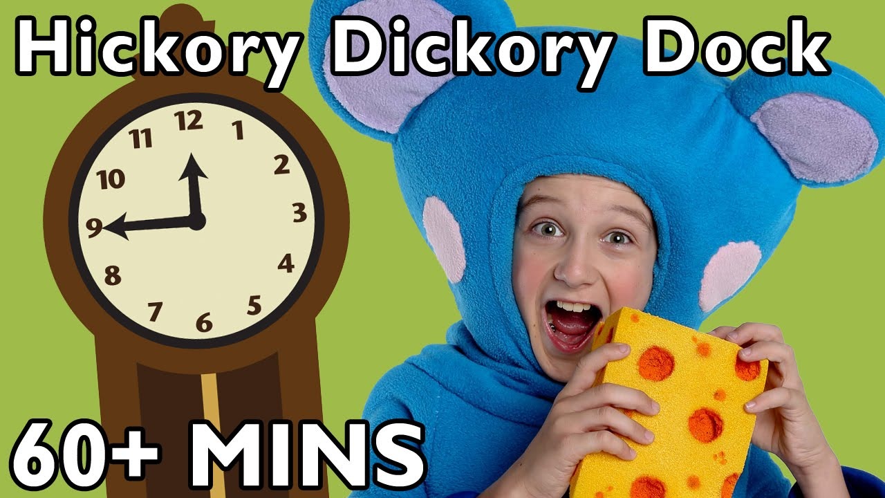 Hickory Dickory Dock and More | Nursery Rhymes from Mother Goose Club