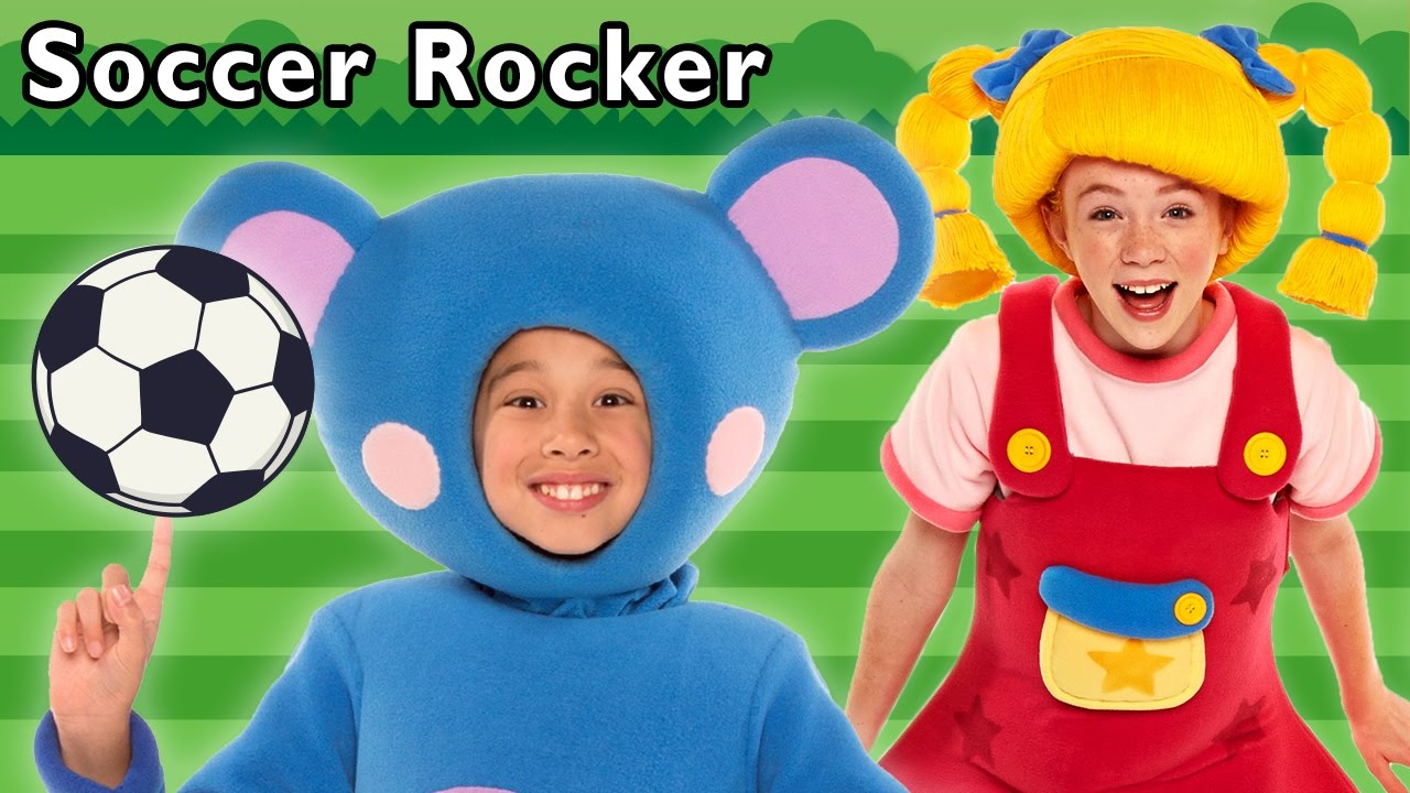 Soccer Rocker and More | Game with Friends | Baby Songs from Mother Goose Club!