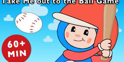 Take Me out to the Ball Game and More | Mother Goose Club Kid Songs and Nursery Rhymes