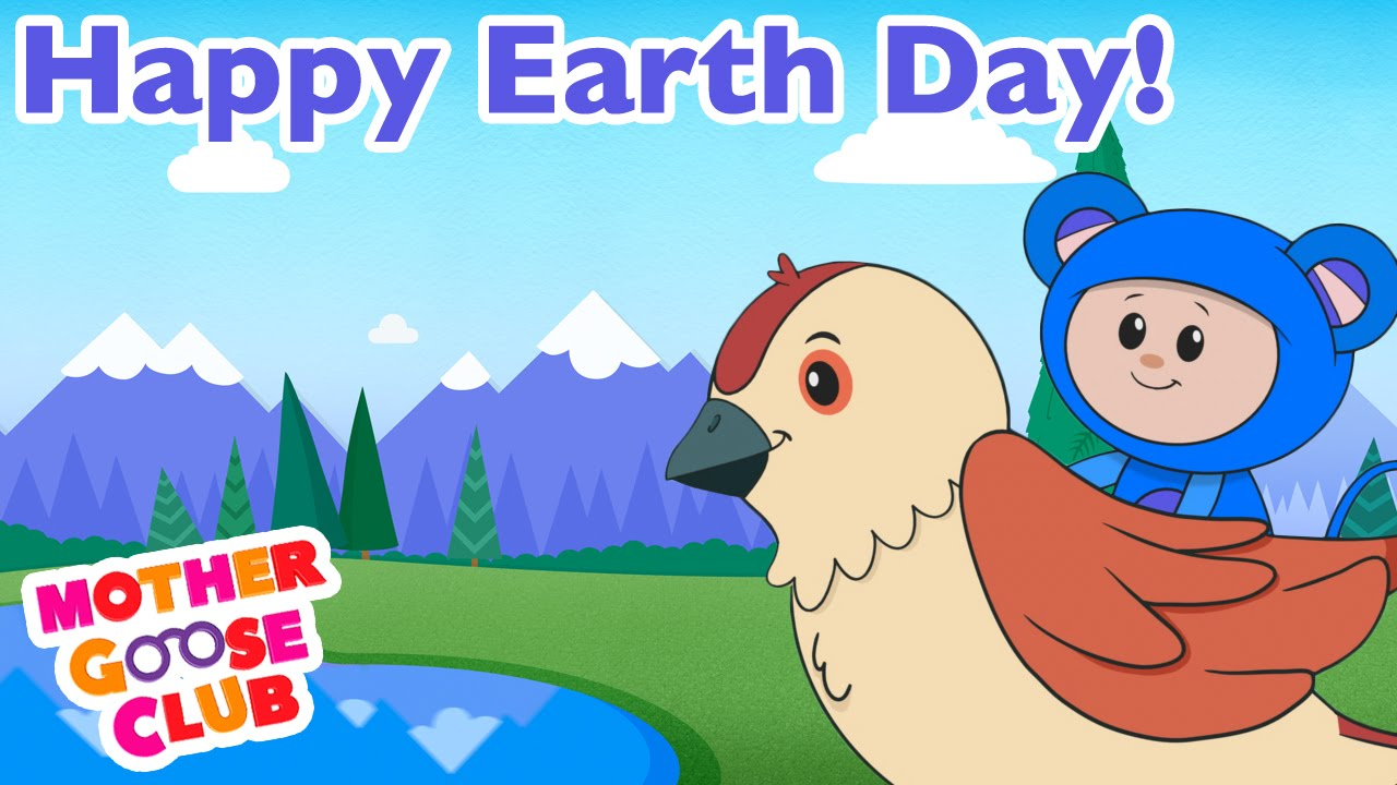 Earth Is Our Home | Mother Goose Club Songs for Children
