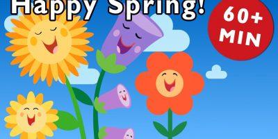 Spring Rhymes | Nursery Rhymes from Mother Goose Club!