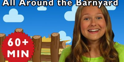 All Around the Barnyard and More | Nursery Rhymes from Mother Goose Club!
