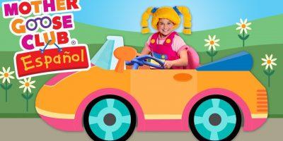 Paseando en Mi Auto | Canciones Infantiles | Mother Goose Club en Español