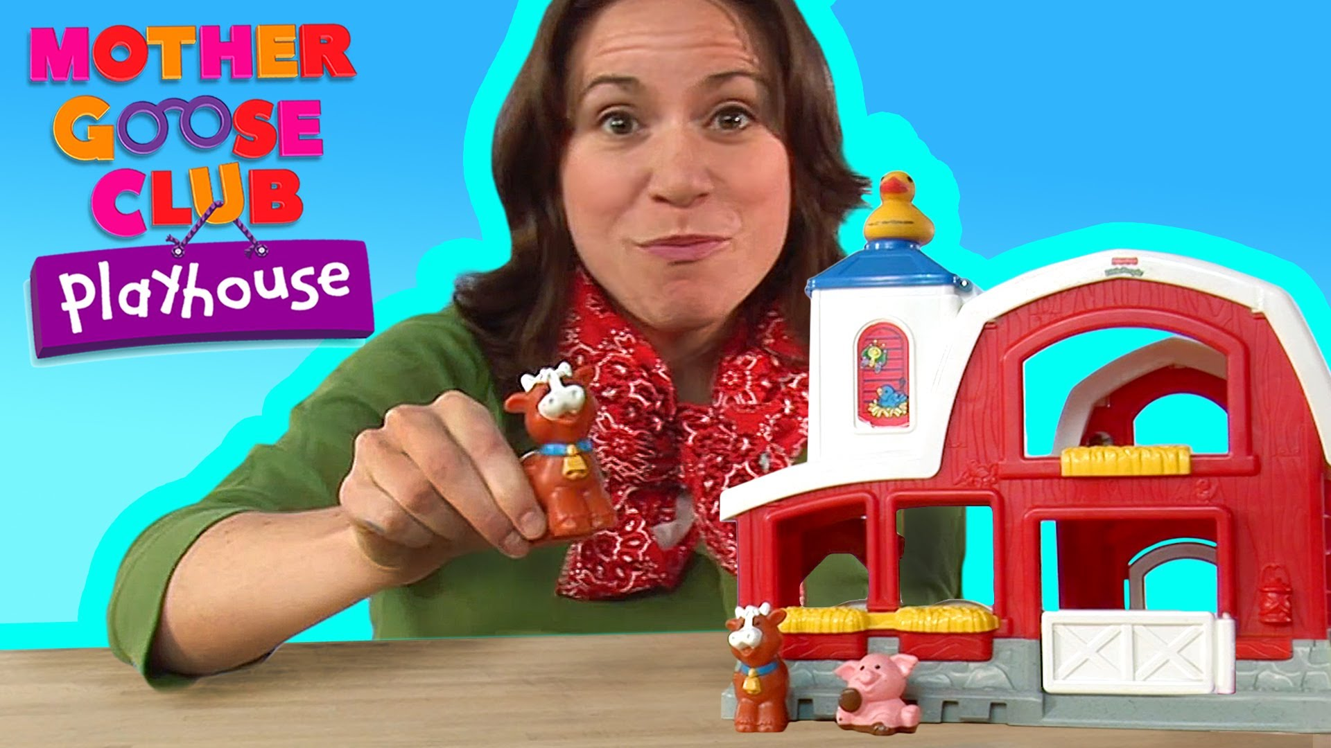 Old MacDonald – Mother Goose Club Playhouse Kids Video