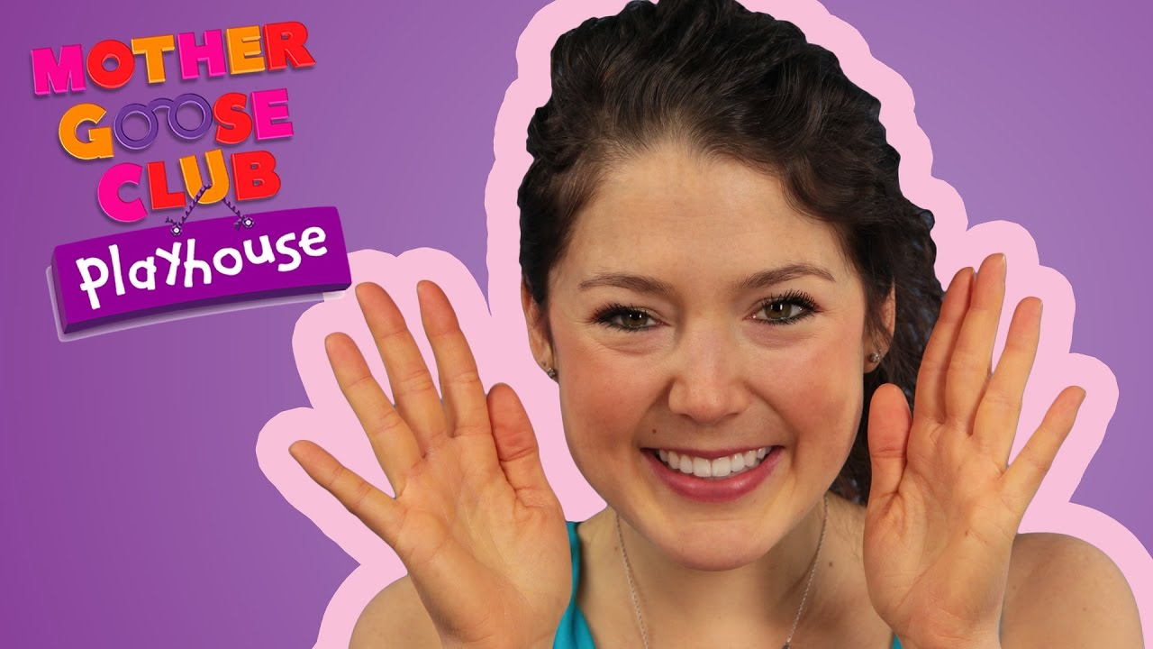 Stars Playing Along   Peek-a-Boo   Mother Goose Club Playhouse Kids Video
