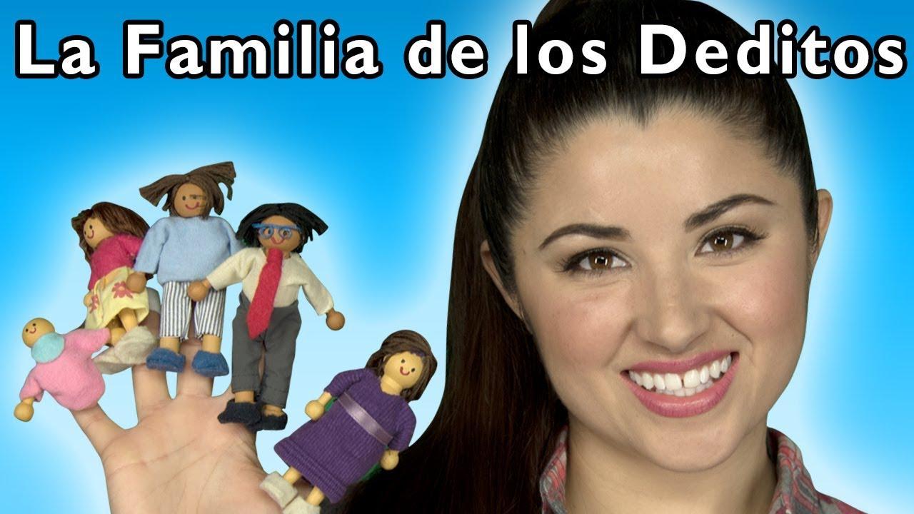 La Familia Dedo | Canciones Infantiles | Spanish Videos | Mother Goose Club en Español