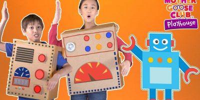 Rockin' Robot   Mother Goose Club Playhouse Nursery Rhymes   ABC Phonics & More Kids Songs