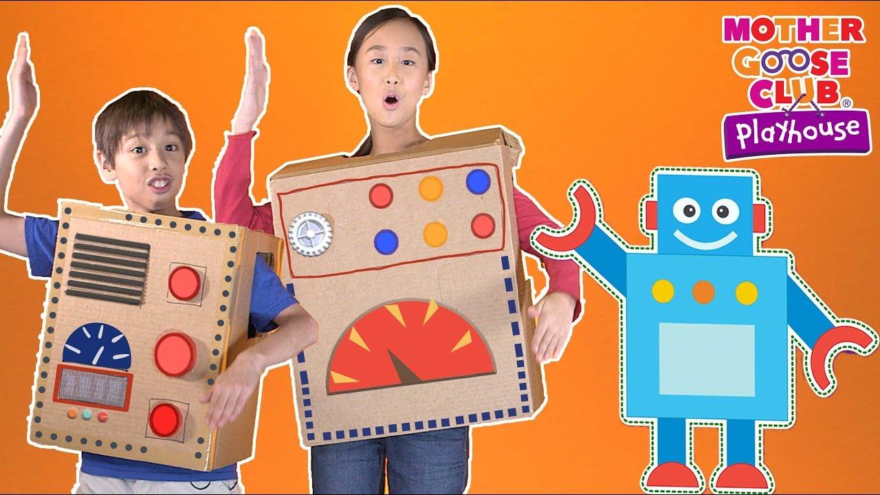 Rockin' Robot | Mother Goose Club Playhouse Nursery Rhymes | ABC Phonics & More Kids Songs
