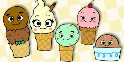 Ice Cream Finger Family | MOMMY FINGER BABY FINGER RHYME | Mother Goose Club Playhouse Kids Song