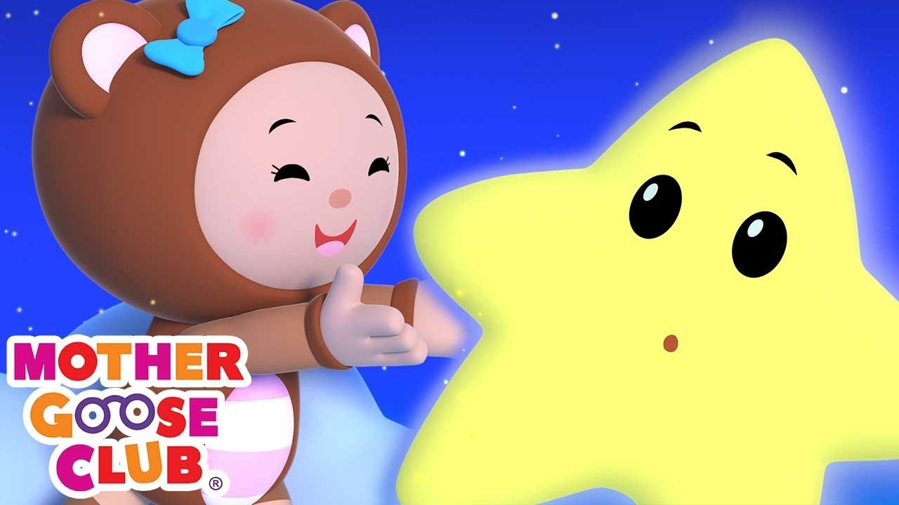Twinkle Twinkle Little Star | Nursery Rhyme Collection from Mother Goose Club Playlist | 3D for Kids