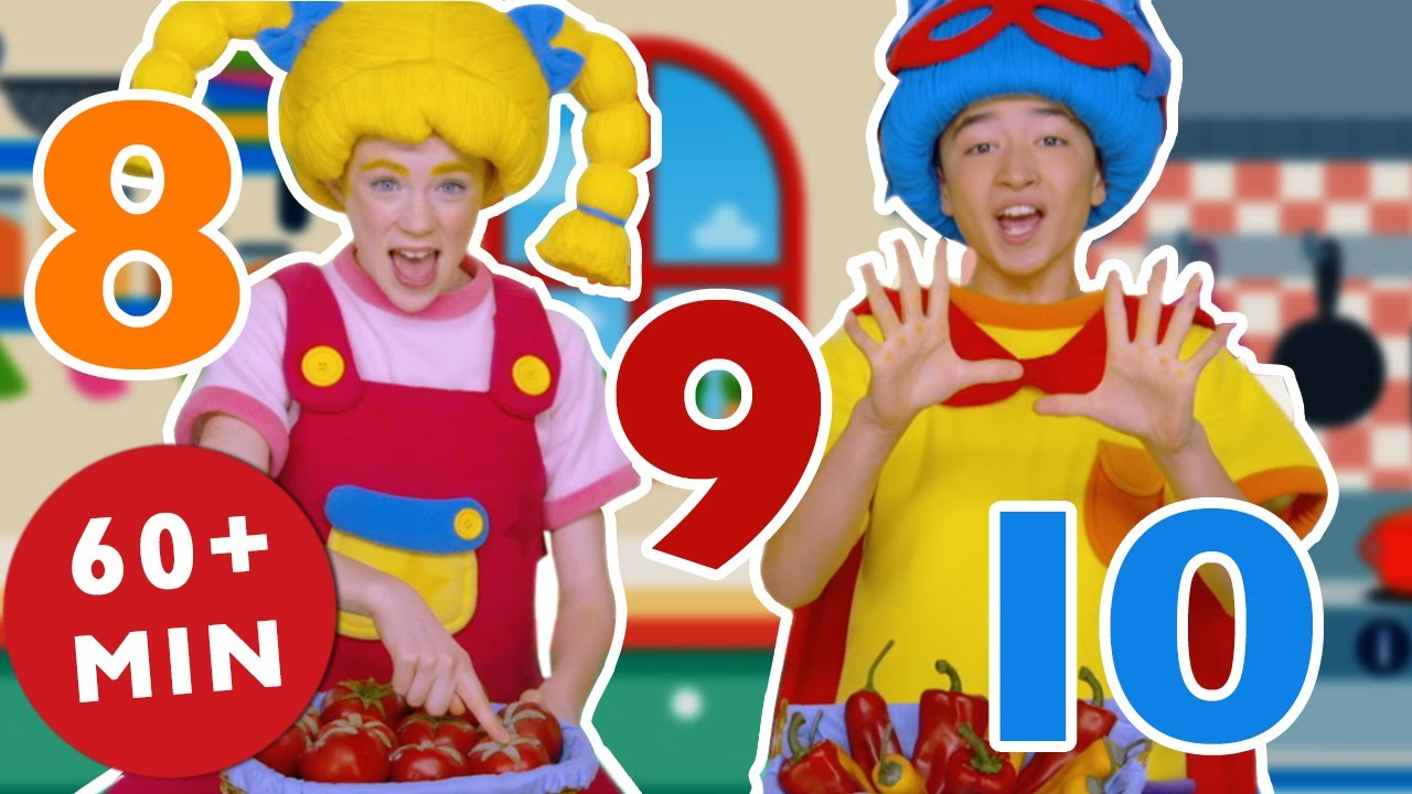 Learn Numbers with Mother Goose Club | Counting One to Ten | 1 -10 | Songs for Children | Number Fun