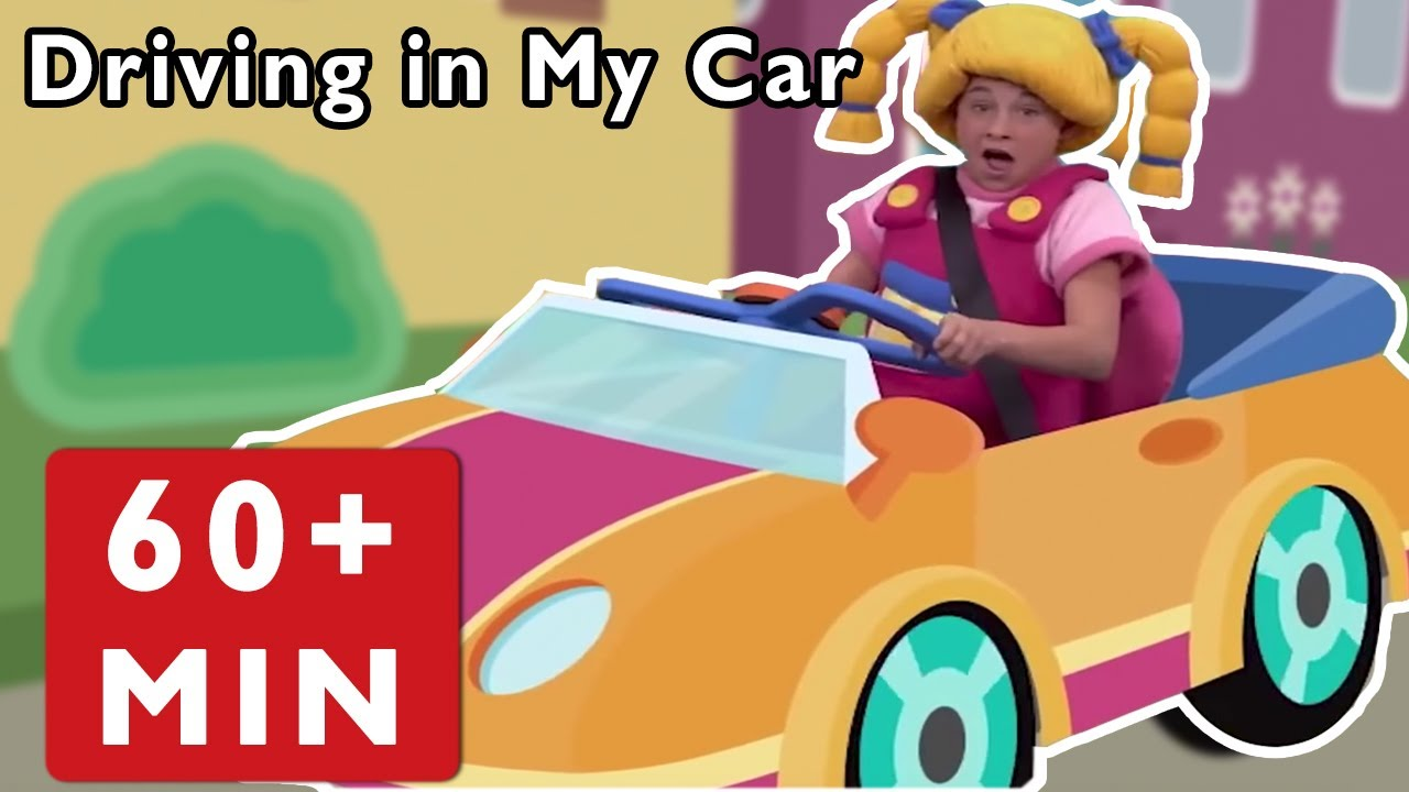 Nursery Rhymes for Kids by Mother Goose Club | Driving in My Car + Road Trip Adventure Baby Songs