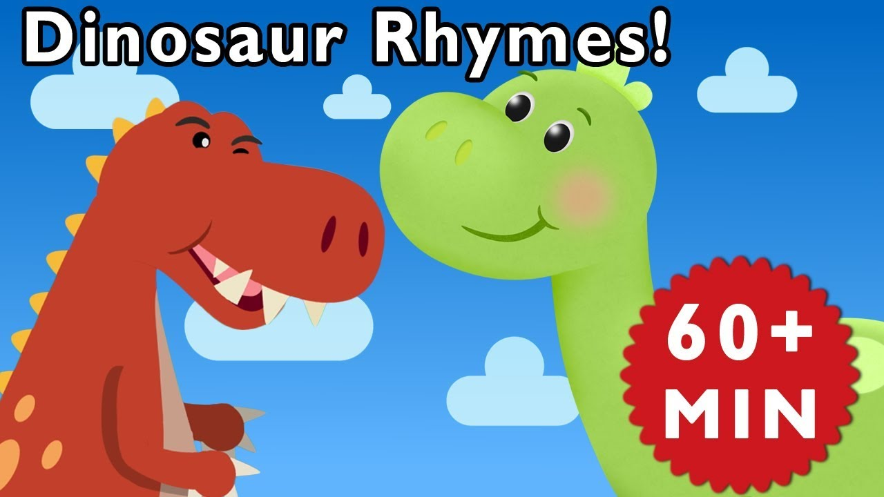 Dinosaur Rhymes | T-Rex Songs | Songs for Kids by Mother Goose Club!