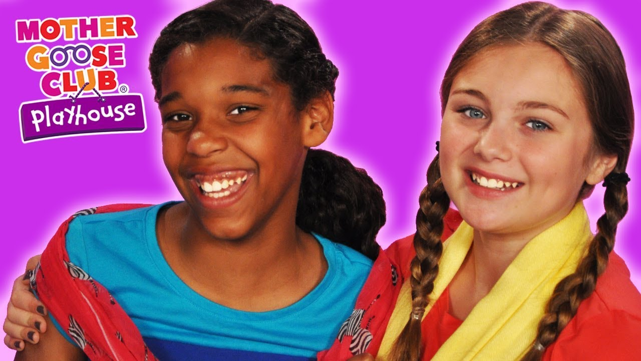 My Magical Scarf | FUN DRESS UP THEATER | Mother Goose Club Playhouse Kids Video