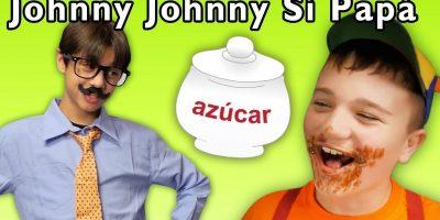 Johnny Johnny Yes Papa en Español | Canciones Infantiles | Mother Goose Club in Spanish