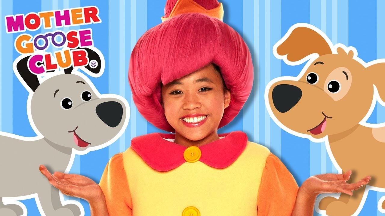 Ten Little Puppy Dogs   Learn to Count Animals   Mother Goose Club Songs for Children