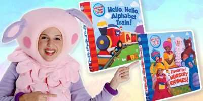 NEW Mother Goose Club Board Books! | FAVORITE NURSERY RHYMES & HELLO, HELLO, ALPHABET TRAIN
