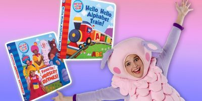 NEW Mother Goose Club Board Books! |  HELLO, HELLO, ALPHABET TRAIN & FAVORITE NURSERY RHYMES!