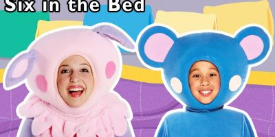 Six in the Bed and More   Sleepover Activity for Kids   Baby Songs from Mother Goose Club!