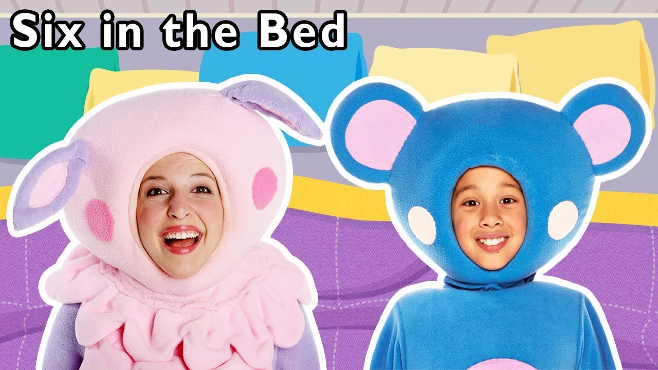 Six in the Bed and More | Sleepover Activity for Kids | Baby Songs from Mother Goose Club!