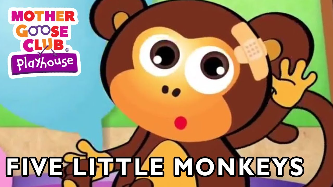 Mother Goose Club Playhouse | Five Little Monkeys and More | Compilation  | Nursery Rhymes
