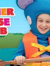 Row Row Row Your Boat – Mother Goose Club Songs for Children