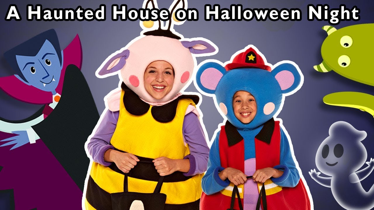 A Haunted House on Halloween Night and More | SCARY KIDS SONGS | Baby Songs from Mother Goose Club!