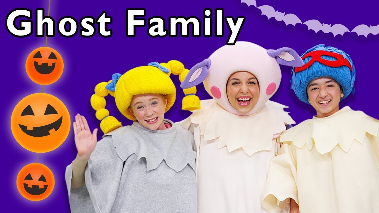 Ghost Family ? and More | SURPRISE HALLOWEEN SONGS | Baby Songs from Mother Goose Club!