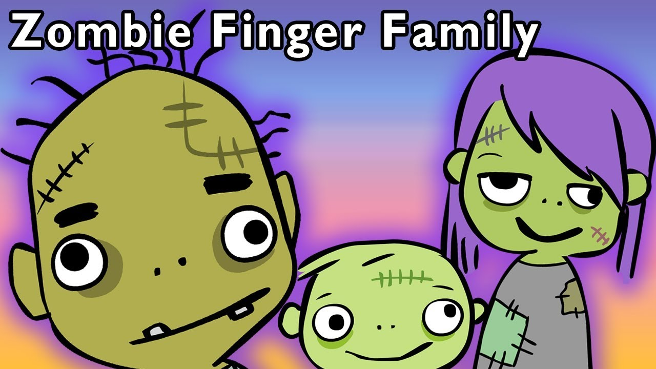 Zombie Finger Family and More | HALLOWEEN MONSTER SONGS | Nursery Rhymes from Mother Goose Club