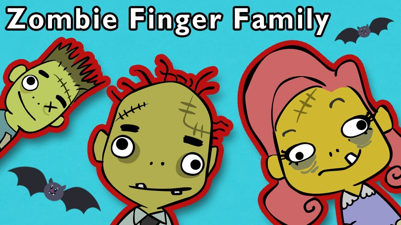Zombie Finger Family and More | HALLOWEEN BABY FINGER | Nursery Rhymes from Mother Goose Club!