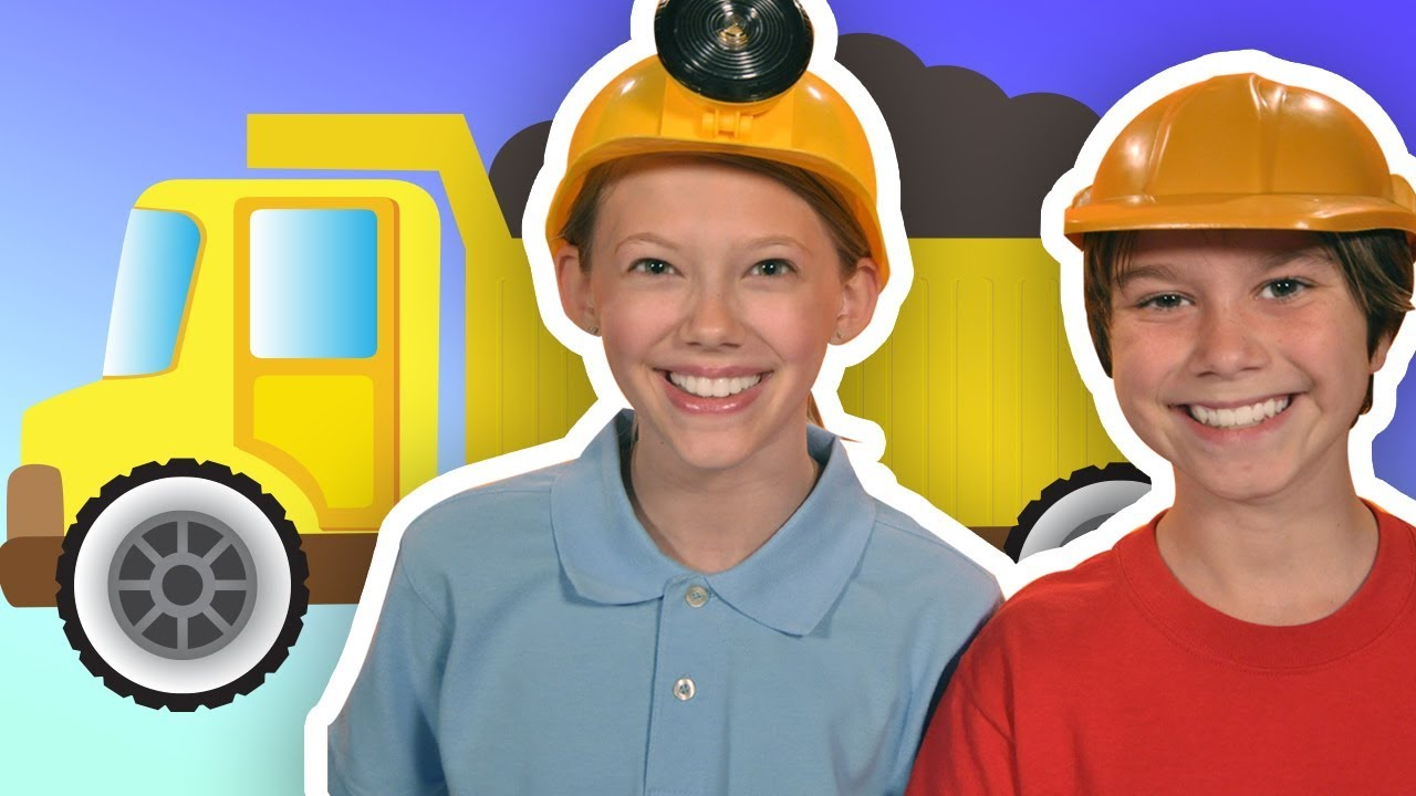 Construction Trucks | DRESS UP PLAYTIME | Mother Goose Club Playhouse Kids Video