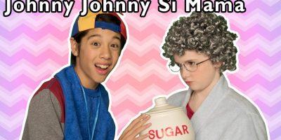 Johnny Johnny Sí Mamá y Más | Disfraz de Halloween ? | Mother Goose Club in Spanish