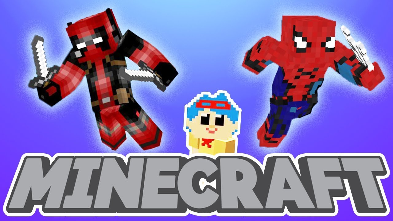 Mother Goose Club: Minecraft | Jack Becomes Different Superheros and More | HALLOWEEN COSTUME MOD