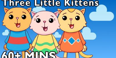 Three Little Kittens and More | Nursery Rhymes by Mother Goose Club Playhouse!