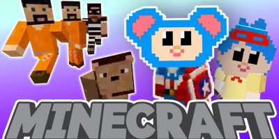 Mother Goose Club: Minecraft | Eep Becomes Different Superheroes and More | HALLOWEEN DRESS UP